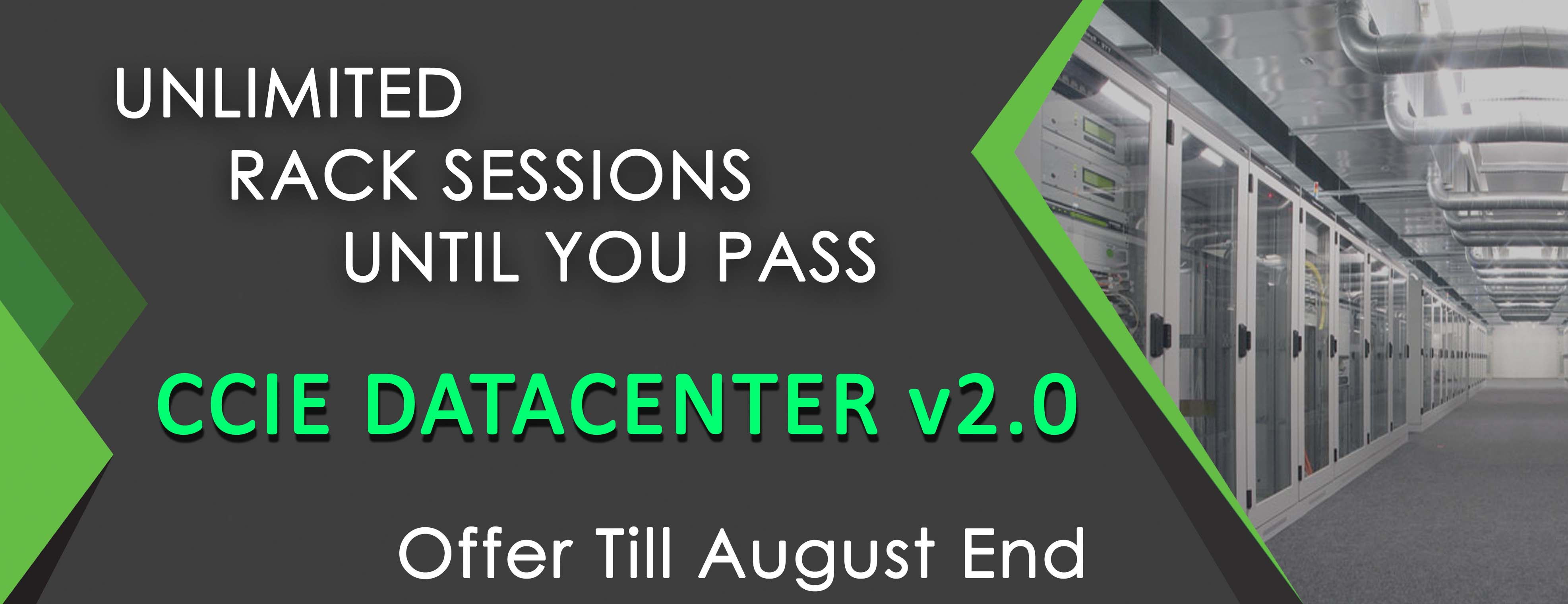 UNLIMITED RACK SESSIONS UNTIL YOU PASS CCIE DATACENTER v2 website banner