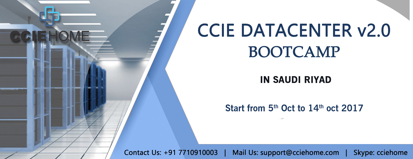CCIE DATACENTER v2 5th Oct to 14th oct facebook