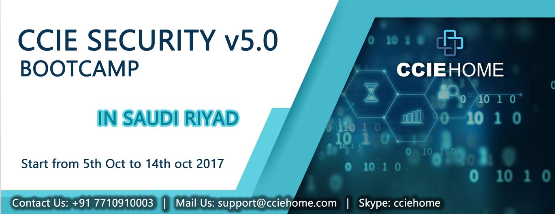 CCIE SECURITY v5 saudi riyadh 5oct facebook